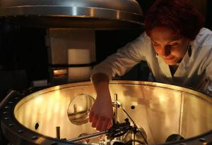 "Experiment in the ""Pavone"" chamber"